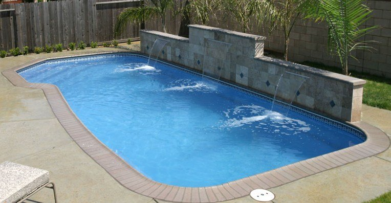 Large Inground Fiberglass Pools Sales Pools For Less